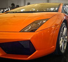 Lamborghini Gallardo in Orange by Sean Farrow