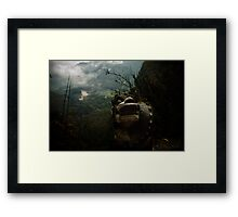 bamboo sea ..... Framed Print