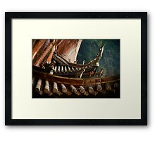 bamboo sea ......... Framed Print