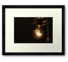 Another idea that shines Framed Print