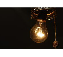 Another idea that shines Photographic Print