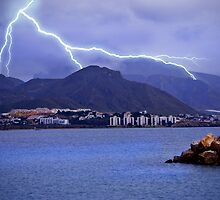 Puerto de Mazarron storm by Alfonso Fernandez