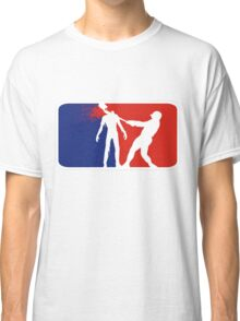 Zombie Down Baseball style Classic T-Shirt