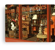Eclectic Antiques and Collectibles Canvas Print