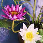 Flowers In A Pot by Liza Barlow