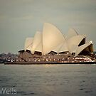 Yes, another view of the Opera House, at dusk by Nicole Wells