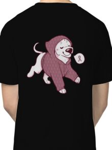 Breast Cancer Awareness Dog Classic T-Shirt