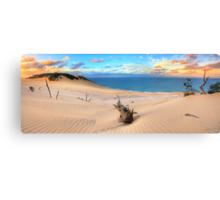 Carlo Sand Blow - Rainbow Beach Canvas Print