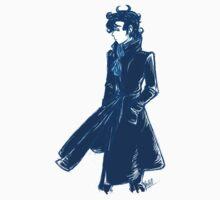 Sherlock Holmes - Blue - No Text by Sno-Oki