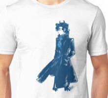 Sherlock Holmes - Blue - No Text Unisex T-Shirt