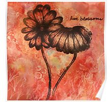 Love Blossoms Poster