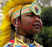 Young Warrior-Heritage Pride by Heather Friedman
