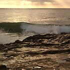 Sunset Surf at Casa Beach, La Jolla by Anna Lisa Yoder