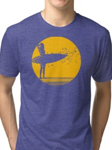 Surfer Girl II Tri-blend T-Shirt