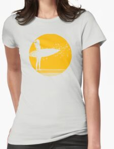 Surfer Girl II Womens Fitted T-Shirt