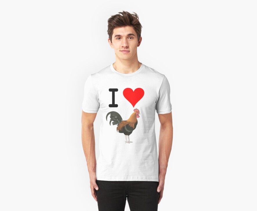I Love Cock by BadSmile