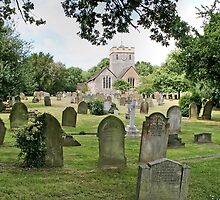 Church of St.Nicholas, Charlwood, Surrey by dgbimages