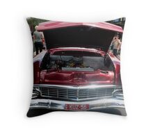 Classic Cherry Red Throw Pillow