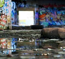 Debris of dreams gone by... by Nicoletté Thain Photography
