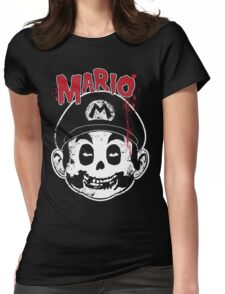 Mario Fiend Womens Fitted T-Shirt
