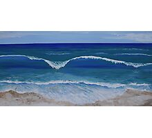 west coast waves Photographic Print