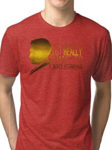 (I Want To) F. Scott Fitzgerald Tri-blend T-Shirt