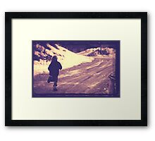 living the dream is a child in motion Framed Print