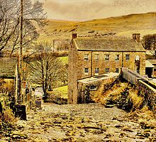 Exploring Yorkshire ~ Gayle Mill by patrixpix
