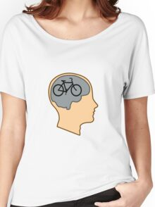 Bicycle Brain Women's Relaxed Fit T-Shirt