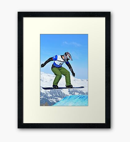 World Cup jump Framed Print