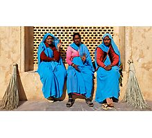 Sweepers, Amber Fort Photographic Print