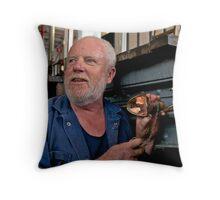 Portrait of a Stranger 3 Throw Pillow