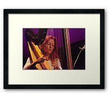 Harpist Framed Print