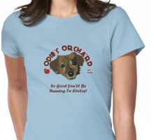 Odie's Orchard Womens Fitted T-Shirt