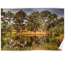 Wonga Magic - Wonga Wetlands, Albury NSW - The HDR Experience Poster