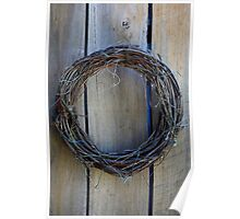 The season is over-leafless wreath Poster