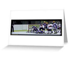 Hockey Milano Rossoblu. Greeting Card