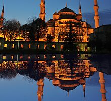 Blue Mosque by neil harrison