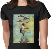 Flotilla - Amelie and Flying Fish Womens Fitted T-Shirt