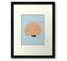 Cheeky Hamster Framed Print