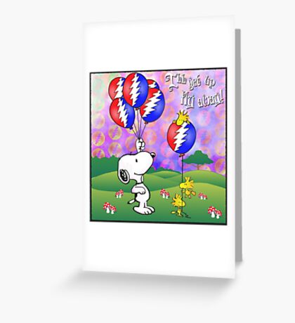 fly away !  Greeting Card