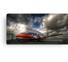 Airbus Super Guppy #3 (with a little HDR) Canvas Print