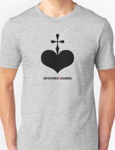 CrossHeart (black) T-Shirt