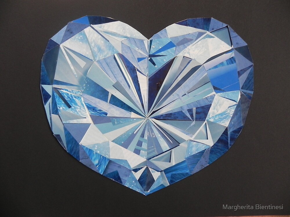 Blue diamond by Margherita Bientinesi