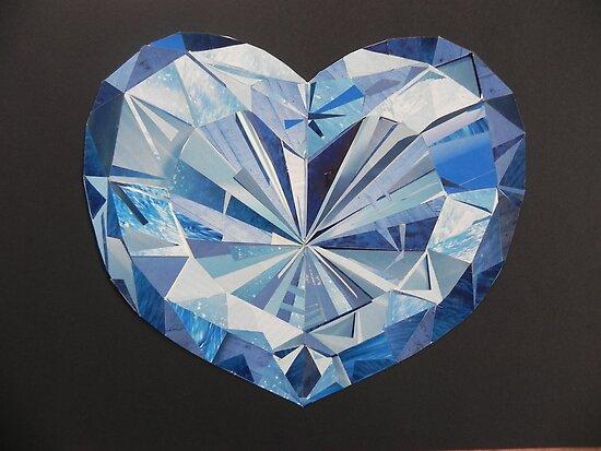 Blue diamond by Margherita Bientinesi