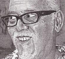 Ink Portrait Commission 1 by RIYAZ POCKETWALA