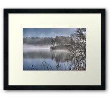 Windermere ...March Mist Framed Print
