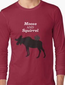 Supernatural Moose and Squirrel  Long Sleeve T-Shirt