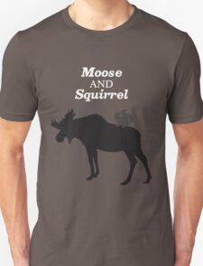Supernatural Moose and Squirrel  Unisex T-Shirt