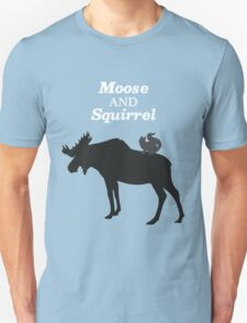 Supernatural Moose and Squirrel  T-Shirt
